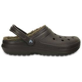 Crocs Classic Lined - Sandalias - marrón